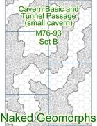 Cavern Basic and Tunnel Passage (small cavern) Set B (M76-93B)
