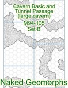 Cavern Basic and Tunnel Passage (large cavern) Set B (M94-105B)