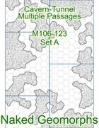 Cavern-Tunnel Multiple Passages Set A (M106-123A)
