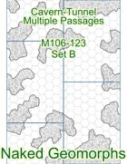 Cavern-Tunnel Multiple Passages Set B (M106-123B)