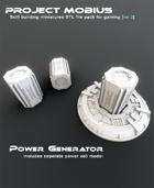 3D Printable Power Generator Includes Seperate Power Cell