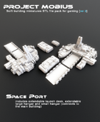 3D Printable Space Port