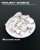 3D Printable Building Ruin