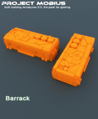 3D Printable Barrack