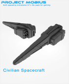 3D Printable Civilian Spacecraft
