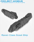 3D Printable Raven Class Scout Ship