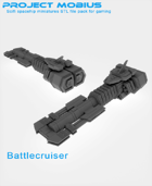 3D Printable Battlecruiser