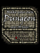 Make your own Dungeon! 100+ Tiles