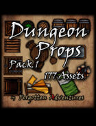 Dungeon Props - Pack 1
