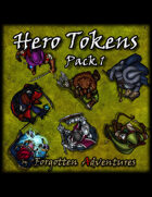 Hero Tokens Pack 1