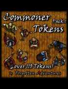 Commoner Tokens Pack 1