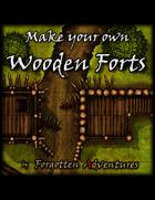 Make your own Wooden Forts, Tile Set Pack