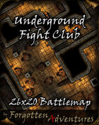 Underground Fight Club 26x20 Battlemap