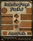 FREE - Interior Props Pack 1