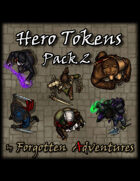 Hero Tokens - Pack 2