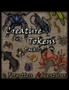 Creature Tokens Pack 7