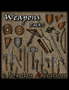 Weapons – Pack 01
