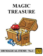 Magic Treasure No.1 - Dungeon World Magic Items