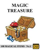 Magic Treasure No.1 - Dungeon World Magic Items