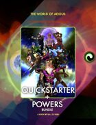 World of AEIOUS: Quickstarter + Powers [BUNDLE]