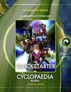 World of AEIOUS: Quickstarter + Cyclopedia [BUNDLE]