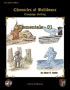 Chronicles of Ballibrous - Elementals - 01