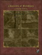 Chronicles of Ballidrous - Battle Maps - The Badlands of Kavva'tak - Desert Pack 01