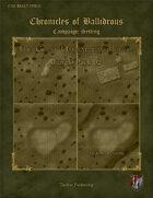 Chronicles of Ballidrous - Battle Maps - The Great Uannat-tuan Jungle - Jungle Pack 02