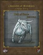 Hall of Stone