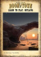 Doomtown Learn to Play: Outlaws Deck
