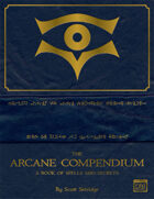 The Arcane Compendium - A Dungeon World Supplement