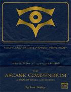 The Arcane Compendium - A Dungeon World Supplement