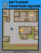 Battlemap Fountain Square