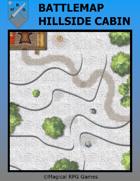 Battlemap Hillside Cabin