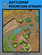 Battlemap Mountain Stream
