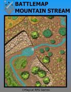 Battlemap Mountain Stream