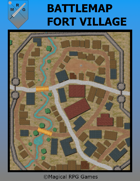 Battlemap Fort Village