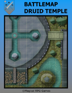 Battlemap Druid Temple