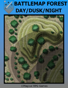 Battlemap Forest Day/Dusk/Night