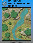 Battlemap Mountain Spring Source