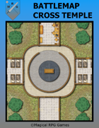 Battlemap Cross Temple