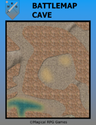image of a battle map named Battlemap-Cave