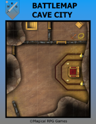 Battlemap Cave City