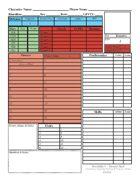 Hero Builder Character Sheet