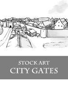 City Gates - Stock Art