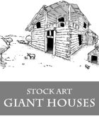 Giant Houses - Stock Art