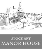 Manor House - Stock Art