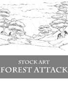 Monsters in Forest 1 - Stock Art