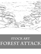 Monsters in Forest 2 - Stock Art
