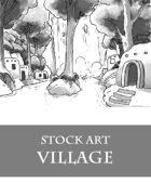 Primitive Village - Stock Art